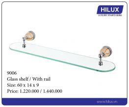 Glass Shelf - With Rail - 9006
