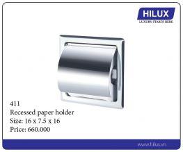 Recessed Paper Holder - 411