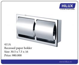 Recessed Paper Holder - 411A