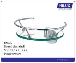 Round Glass Shelf - 8206A
