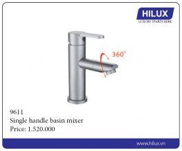 Single Handle Basin Mixer - 9611
