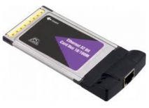 Card PCMCIA to LAn 10-100