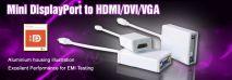 Mini displayport to HDMI-DVI-VGA