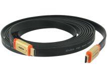 Cáp HDMI to HDMI dẹt 5m (Hàng box)