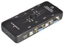 KVM Manual Switch 4 Port cổng USB