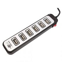 7 port hub usb 6 port on/off switch