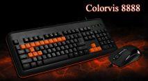Bộ phím chuột Colorvis 8888