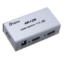 Bộ Chia Cổng HDMI 1 ra 2 DTECH