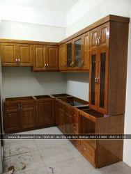 Thi công lắp đặt tủ bếp TB-06
