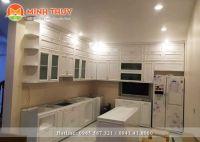 Thi công lắp đặt tủ bếp TB-011
