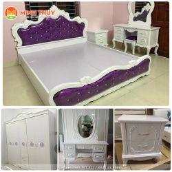 Bộ phòng ngủ tân cổ điển khung thường (CB-32)