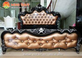 Giường ngủ tân cổ điển cao cấp (CB-01.11)