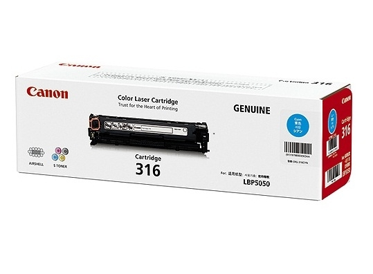 Mực in Canon 316 Cyan Toner Cartridge