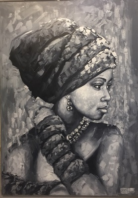 African Lady 5