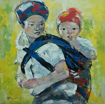 Ethnic Mother And Child 12