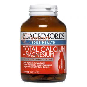 Blackmores Bone Health Total Calcium & Magnesium + D3
