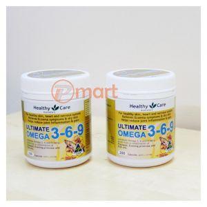 Omega 3-6-9 tinh dầu cá và EPO của Healthy Care