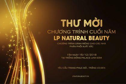 Chương trình gala diner 2018 LPnaturalbeauty Việt Nam