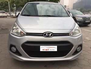 Xe Hyundai Grand i10 Sedan 1.25MT 2016 - Bạc