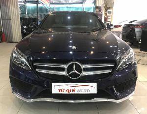 Xe Mercedes Benz C300 AMG 2.0AT 2016 - Xanh CavanSite