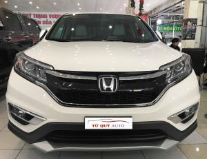 Xe Honda CR V 2.0 AT 2016 - Trắng