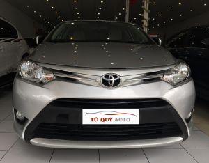 Xe Toyota Vios 1.5E 2016 - Bạc