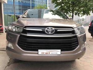 Xe Toyota Innova 2.0E 2017 - Bạc