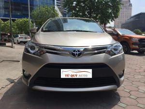 Xe Toyota Vios G 1.5AT 2017 - Vàng cát