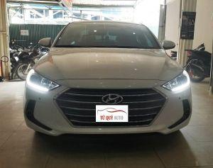 Xe Hyundai Elantra GLS 2.0AT 2018 - Trắng