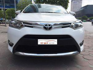 Xe Toyota Vios 1.5E 2017 - Trắng
