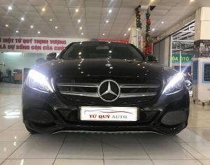 Xe Mercedes Benz C200 2.0AT 2016 ĐK 2017 - Đen
