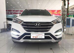 Xe Hyundai Tucson 2.0AT 2016 ĐK 2017 - Trắng
