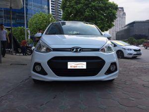 Xe Hyundai i10 Hatchback 1.2AT 2014 - Trắng