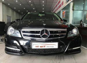 Xe Mercedes Benz C200 1.8AT 2011 - Đen
