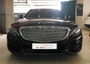 Xe Mercedes Benz C class C250 Exclusive 2015 - Đen