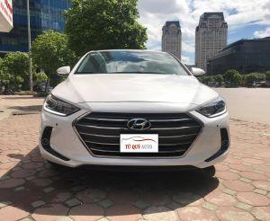 Xe Hyundai Elantra GLS 2.0AT 2017 - Trắng