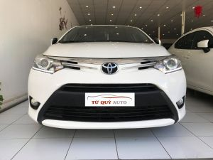 Xe Toyota Vios G 1.5AT 2016 - Trắng