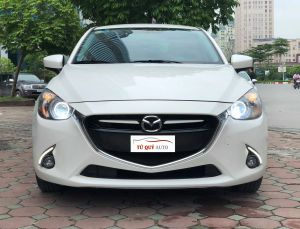 Xe Mazda 2 Sedan 1.5 AT 2015 - Trắng (Nhập)