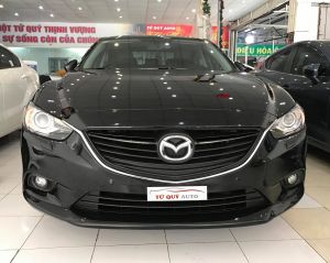 Xe Mazda 6 Sedan 2.0AT 2013 - Đen