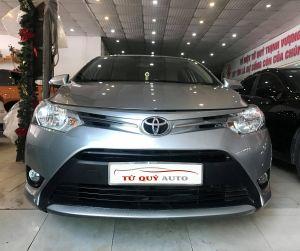 Xe Toyota Vios E 1.5MT 2016 - Bạc