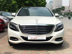 Xe Mercedes Benz S class S400 3.0AT 2014 - Trắng