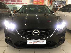 Xe Mazda 6 Sedan 2.0AT 2015 - Đen