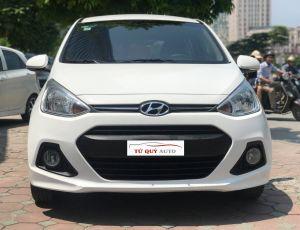 Xe Hyundai i10 Hatchback 1.0AT 2016 ĐK 2017 - Trắng