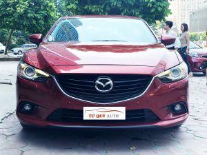Xe Mazda 6 Sedan 2.0 AT 2014 - Đỏ