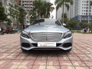 Xe Mercedes Benz C class C250 Exclusive 2015 - Xanh