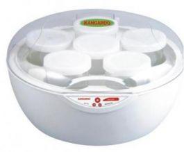Máy làm sữa chua Kangaroo KG-80, 6 cốc, cốc thủy tinh, 1L