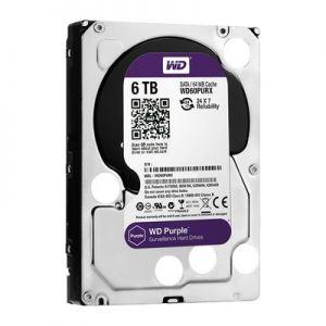 "WD HDD Purple 6TB 3.5"" SATA 3/ 64MB Cache/ IntelliPower (5400RPM) (Màu tím)"