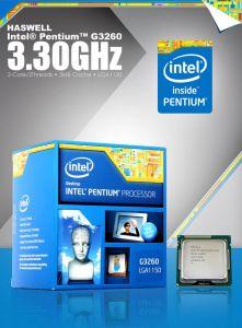 CPU Intel Pentium G3260 3.3GHz / 3MB / HD Graphics / Socket 1150