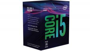 Bộ xử lý Intel® Core™ i5-8400 2.8Ghz Turbo Up to 4Ghz / 9MB / 6 Cores, 6 Threads / Socket 1151 v2 (Coffee Lake )