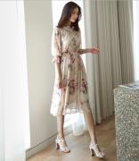 Váy liền thân Mayddle Hàn Quốc 40512